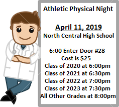 2019 Athletic Physical Night