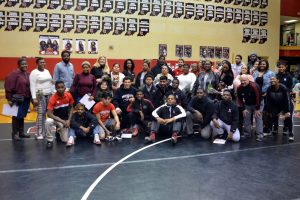 Wrestling Senior Night Photos