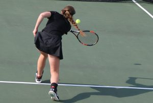 Girls Tennis Action Photos