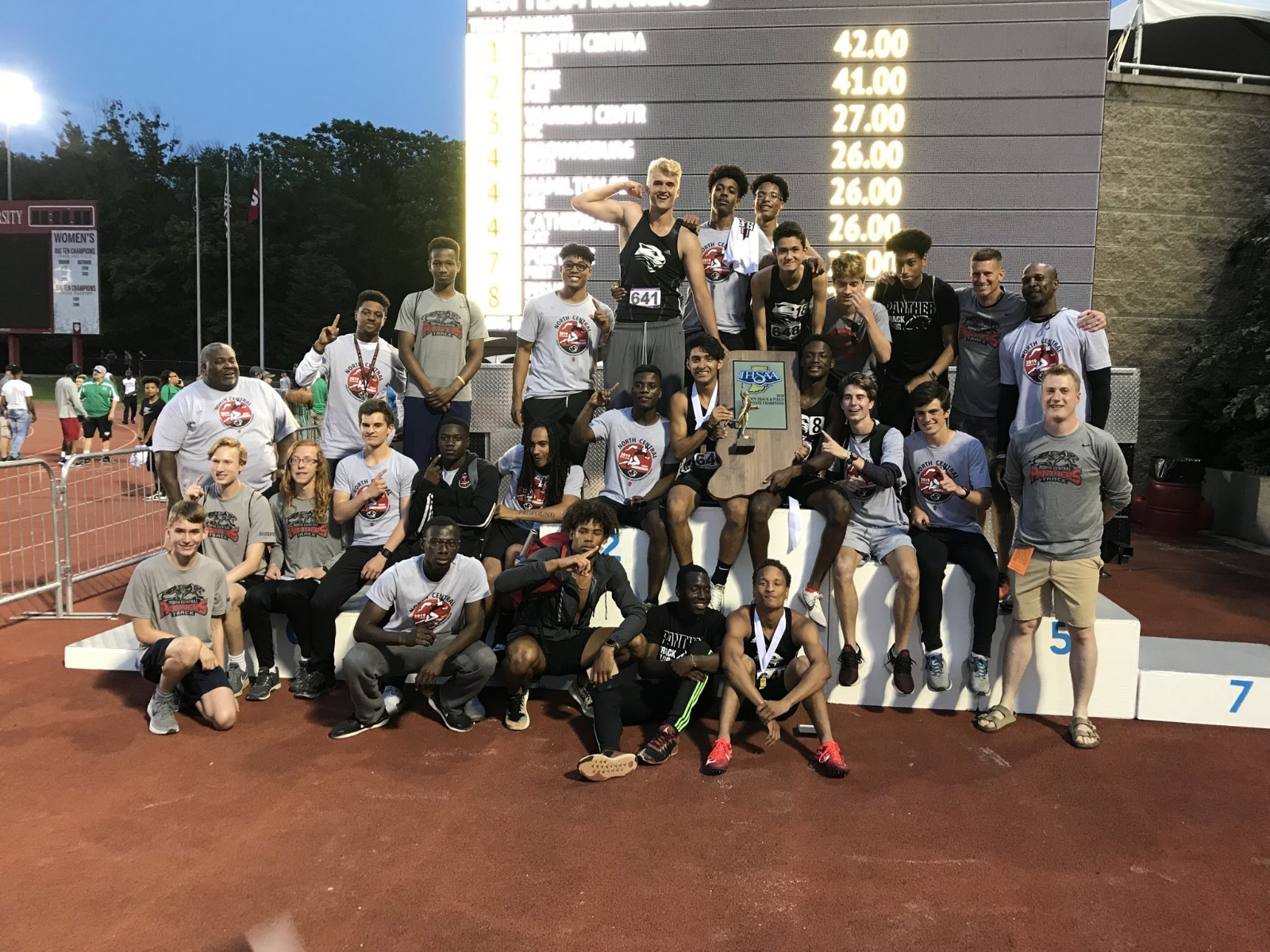 2019 Boys State Champions