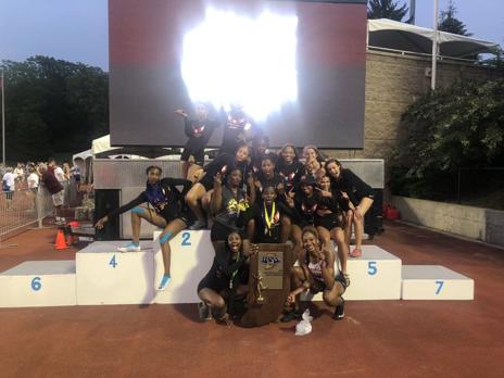 2019 Girls Track State Champions