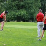 Girls Golf Action Photos
