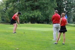 Girls Golf Action Photos