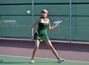 Girls Varsity Tennis  (2015-2016 Academic Year)