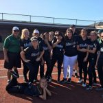 Coronado High School Varsity Softball beat Kearny High School 20-0