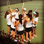 Coronado High School Girls Junior Varsity Tennis beat Academy of Our Lady of Peace 12-6