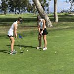 Coronado High School Girls Varsity Golf beat La Jolla High School 216-256