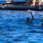 Coronado High School Boys Varsity Water Polo beat University City High School 9-8