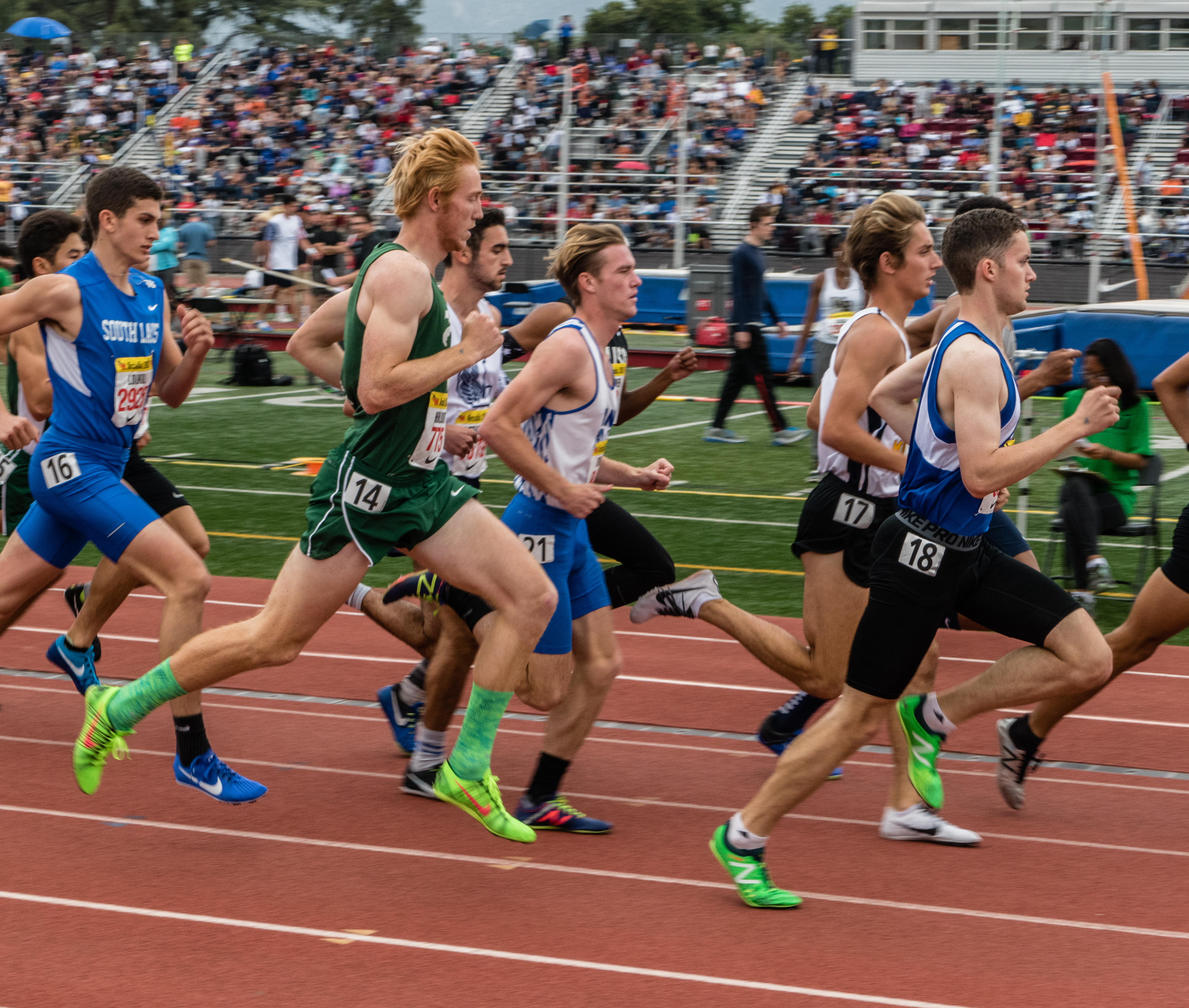 Ian Hurlburt Breaks School Record in 800