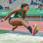 Alysah Hickey Wins State Long Jump
