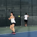 Girls Varsity Tennis beats Academy of Our Lady of Peace 15 – 2