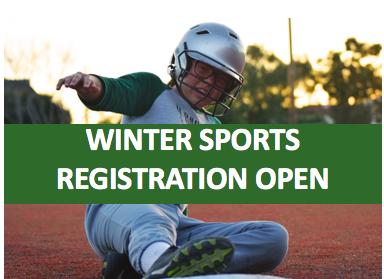 Middle School Winter Sports Registration Open