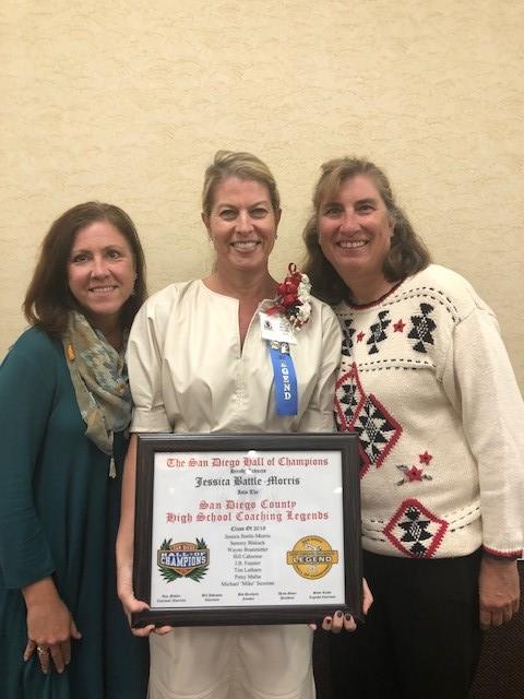 Jessica Battle-Morris Honored as a Coaching Legend