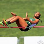 Alysah Hickey Tops in County Track