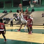 Boys Varsity Basketball beats Hoover/San Diego 53 – 39