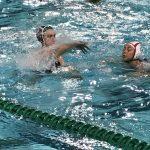 Girls waterpolo win senior night!