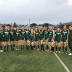 Girls JV soccer take league title.