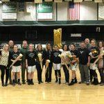 Girls win at Senior night.