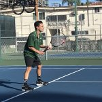Boys Varsity Tennis falls to Canyon Crest Academy 13 – 5