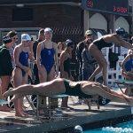 Swim Team Hosts University City