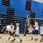 Middle school boys volleyball wins over Christian