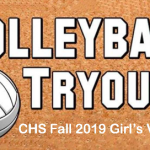 Fall 2019 Girl's Volleyball Tryouts