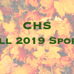 CHS Fall Sports Information 2019