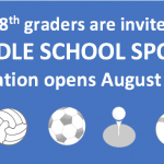 Middle School Sports Registration
