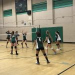 Girls Freshman Volleyball beats Helix 2 – 0