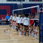 Girls Varsity Volleyball Wins Again Over Montgomery 3-1