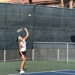 Girls Varsity Tennis beats Cathedral Catholic 14 – 4