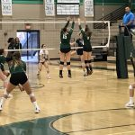 Girls Varsity Volleyball beats Christian 3 – 1