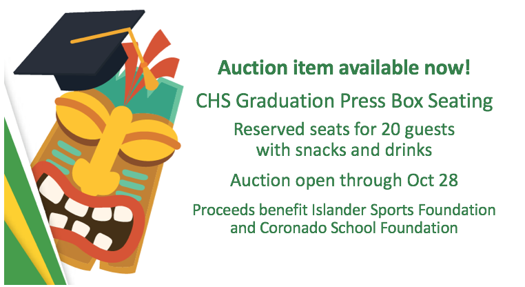 Graduation press box seats on auction to benefit ISF