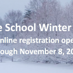 Middle school winter sports registration