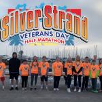 CHS Athlete Volunteers at Silver Strand Veteran's Day Half Marathon