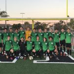 Boys Varsity Soccer beats Crawford 5 – 0