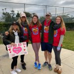 Athlete volunteers raise funds at Valentine's Day race