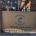 Unveiling of Swim Record Board Thursday 13th