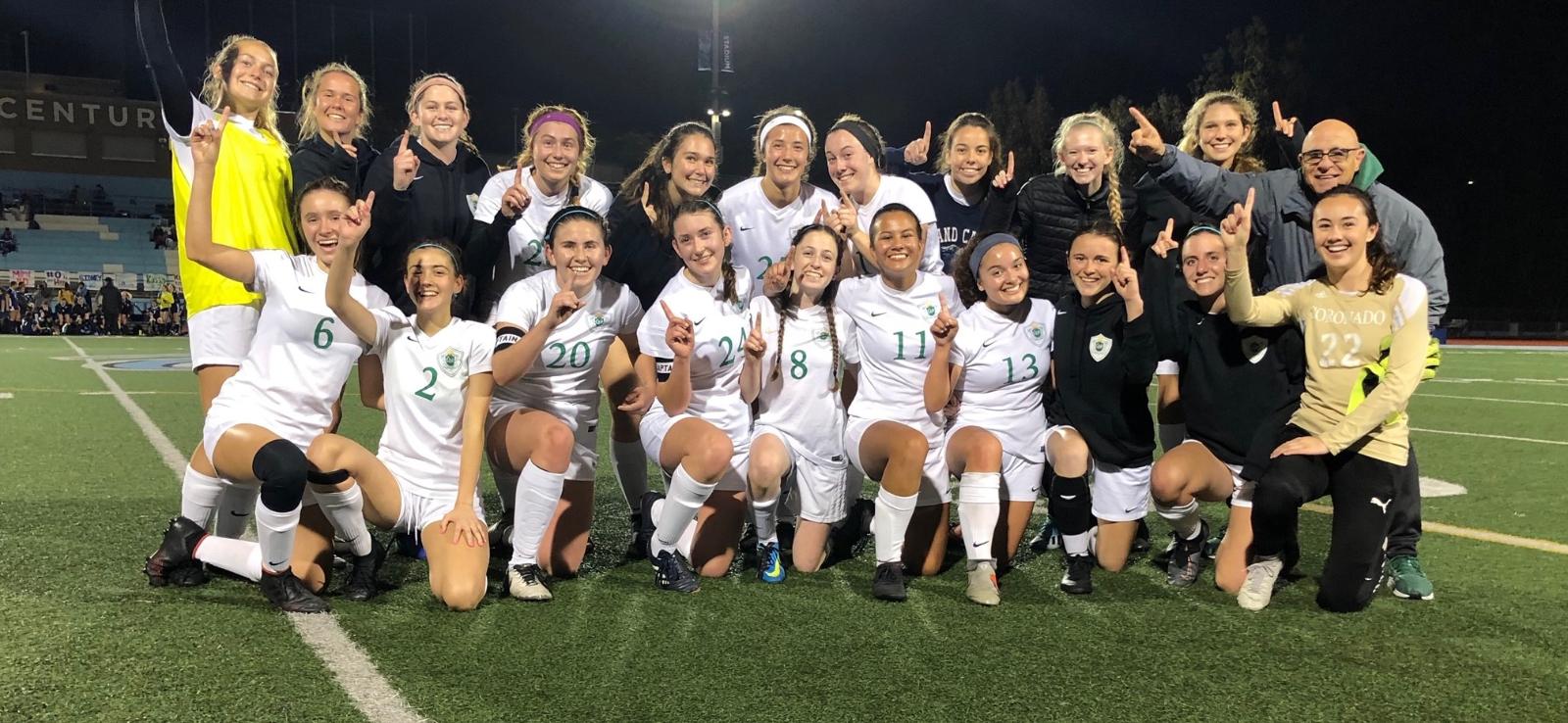Girls Soccer Headed to Semi-Finals