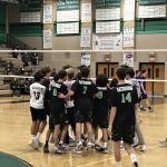Boys Varsity Volleyball beats Saint Augustine 3 – 2