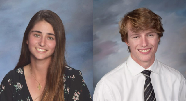 Devin Schulte and Crista Izuzquiza name Top Athletes Class of 2020