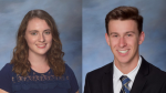 ISF Honors Anna Hinz and Grant Gould