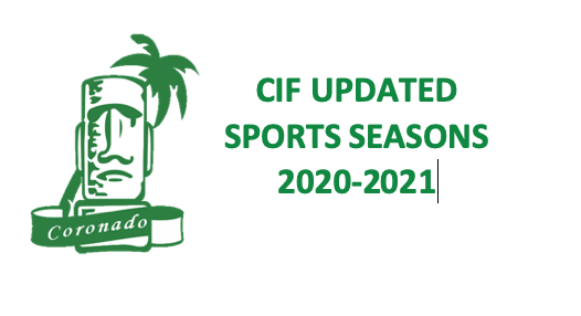Revised Sports Seasons for 2020-2021 School Year