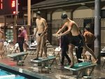 Swim Team Dives into Action