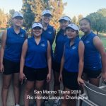 Girls Golf Win League Championship