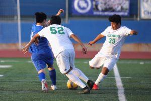 JV Soccer Pictures v Blair 1/26/19