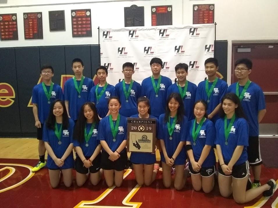 Titans Win Division 1 Badminton Championship