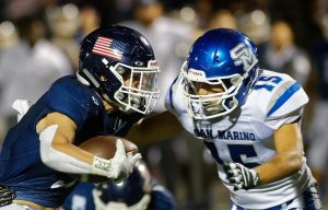 San Marino Football @ Newport Harbor