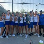 Congratulations to Girls Tennis on Outstanding League Individual Performance