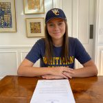 Grace Carter signs NLI to Whitman College Tennis